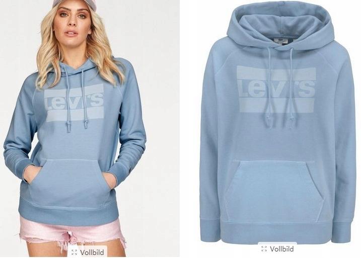 levi's bluza damska niebieska