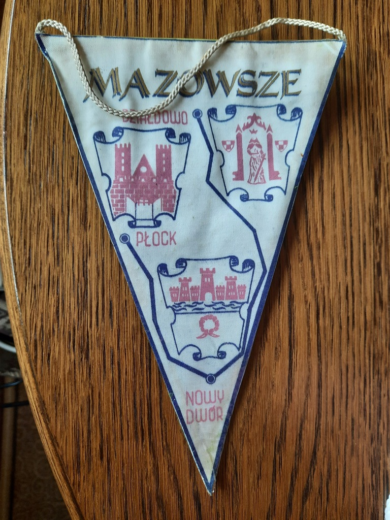 Proporczyk - VII Ogólnopolski Spływ Kajakowy -1972