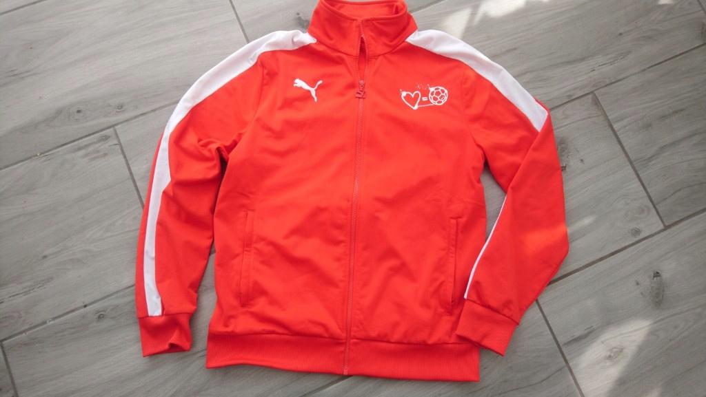 czerwona bluza męska Puma M