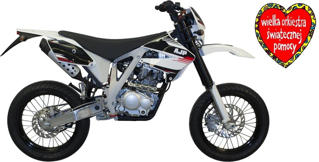 Nowy motocykl marki AJP PR4 125 Supermoto