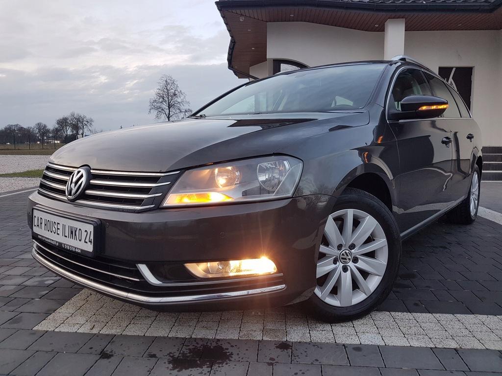 VW PASSAT B7 NAVI JASNA SKÓRA_ALCANTARA