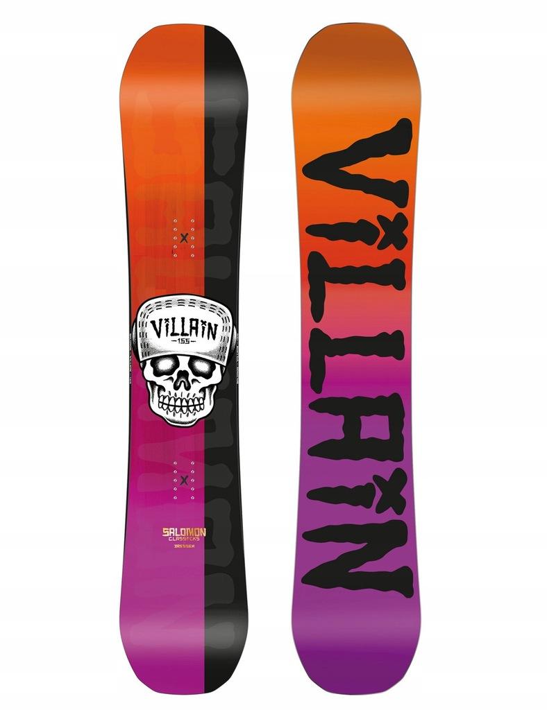 Deska snowboardowa Salomon Villain Classicks 155