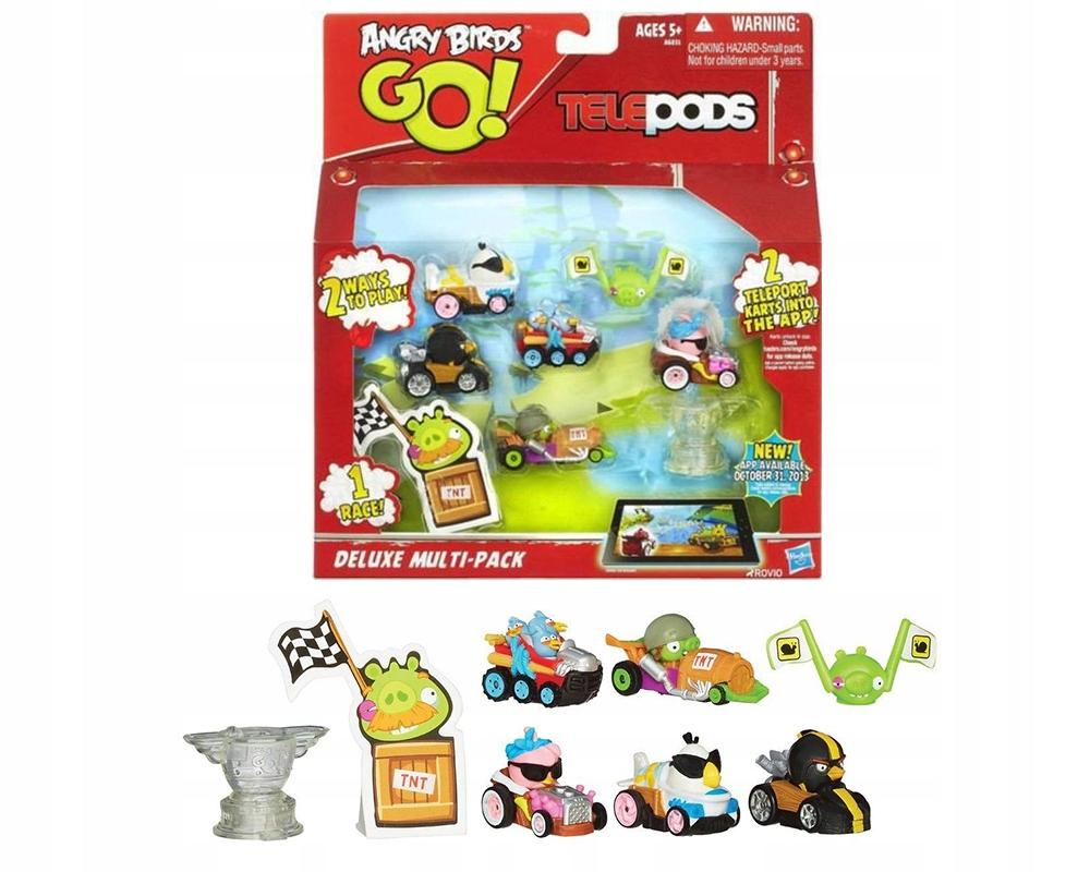 Figurki Angry Birds Go Telepods Deluxe Multipack 8698746143 Oficjalne Archiwum Allegro