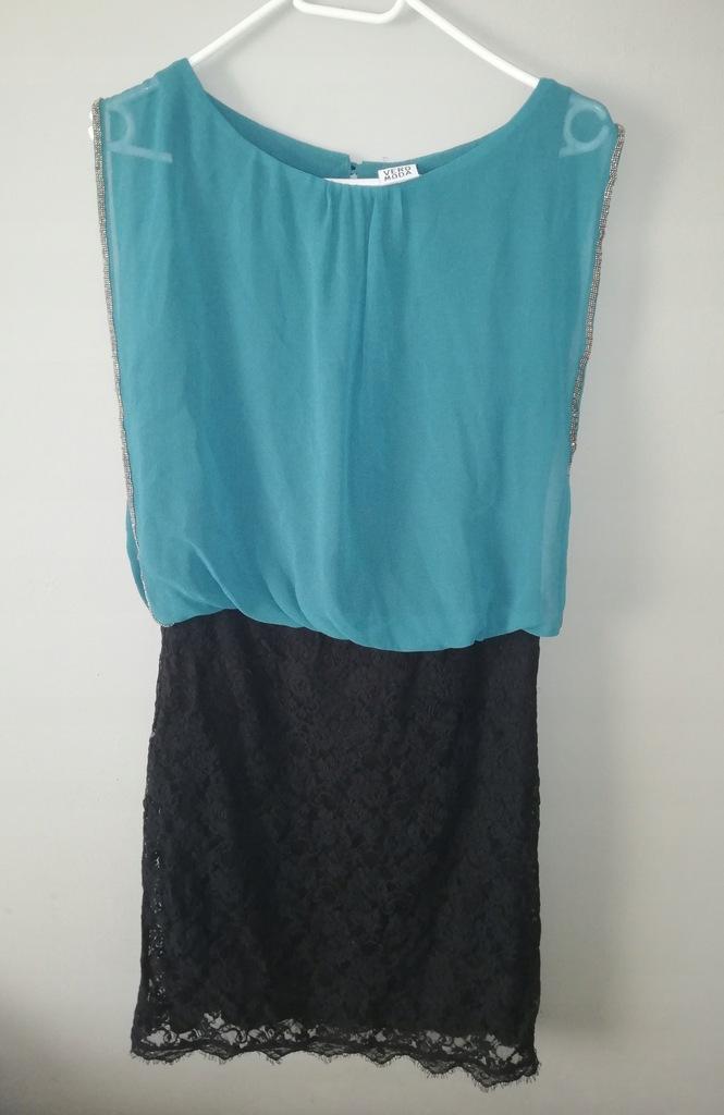 Sukienka Vero Moda koronka M