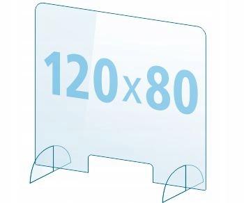 OSŁONA z pleksi ochronna PB szyba 4mm plexi 120x80