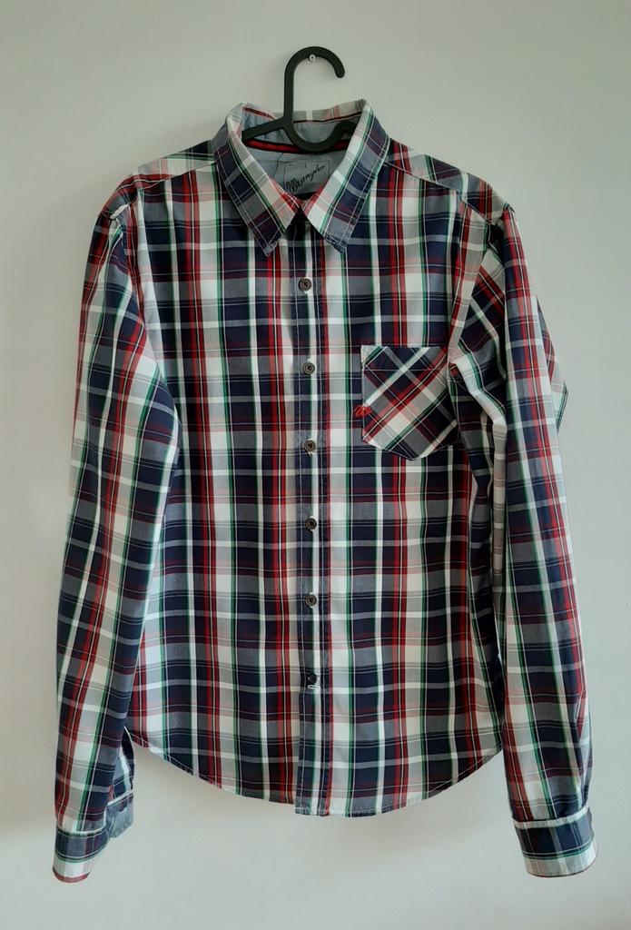 Wrangler męska koszula klasyczna w kratę