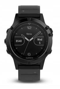 Zegarek sportowy Garmin Fenix 5 Sapphire (czarny)
