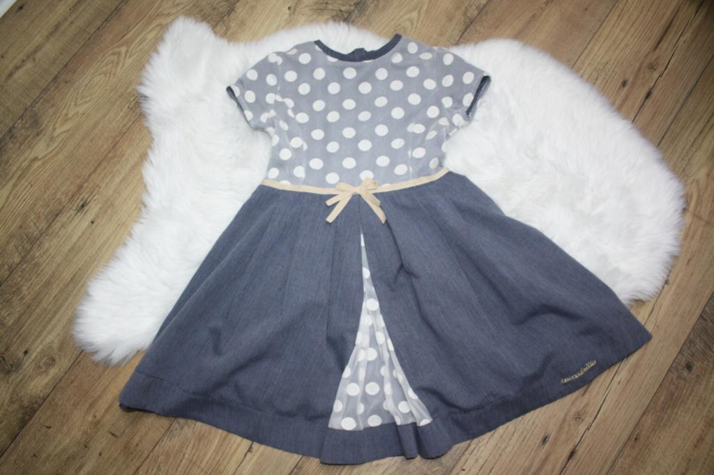 Sukienka Coccodrillo w groszki - 128