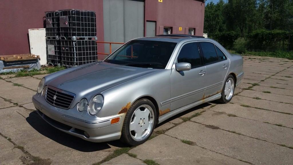 Mercedes E55 Amg Oryginalny 7966551158 Oficjalne Archiwum Allegro