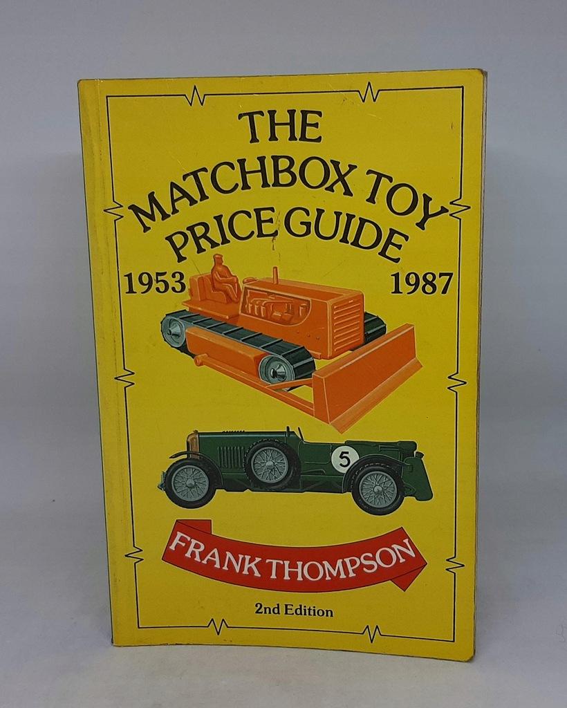 MATCHBOX TOY PRICE GUIDE 1953-1987 CENNIK/KATALOG