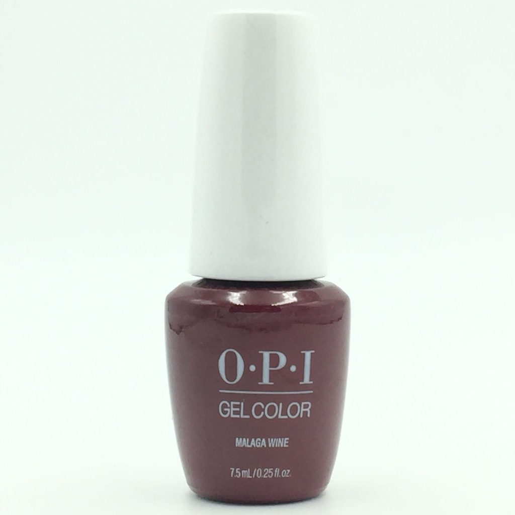 OPI GelColor Malaga Wine L87 ICONIC