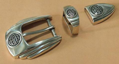 CELT klamra zapinka ozdobna do paska 27mm /kpl