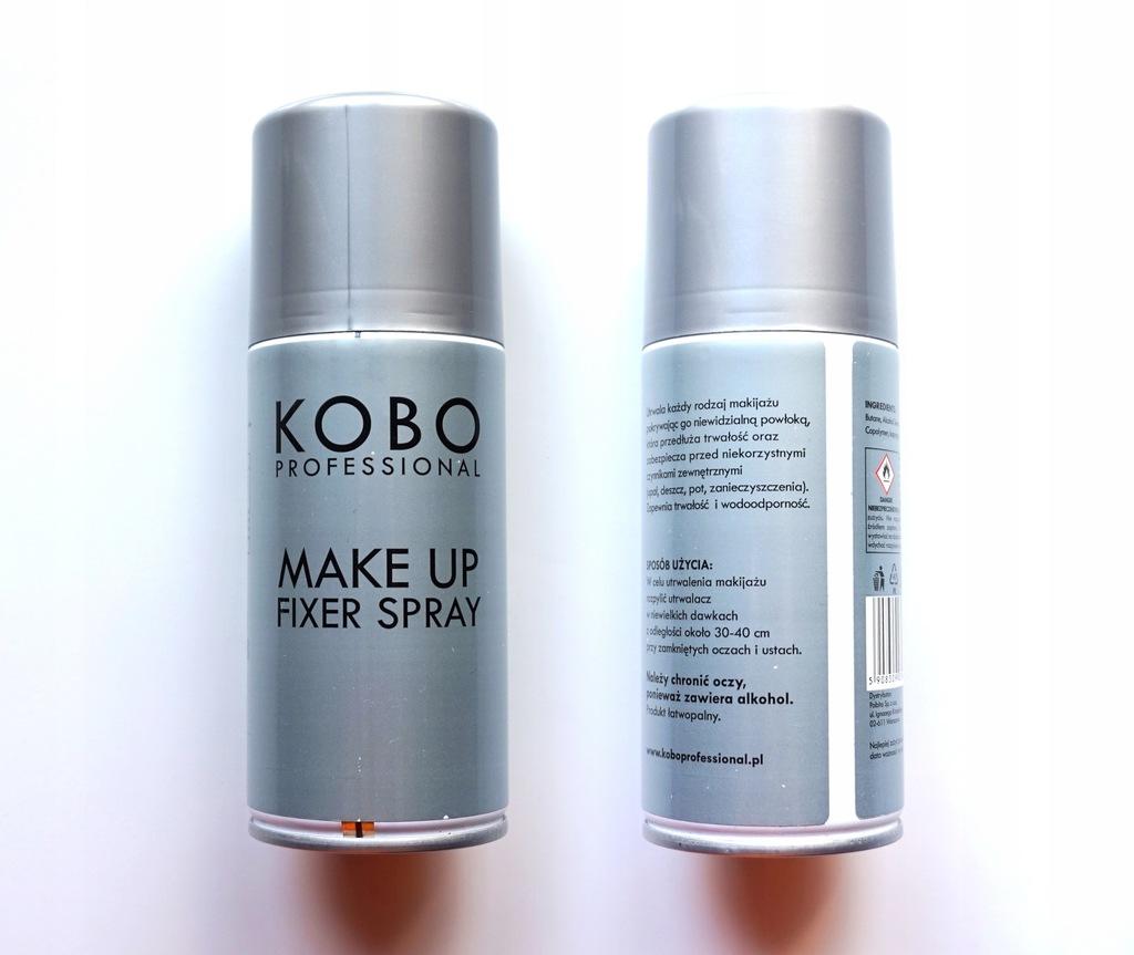 KOBO MAKE UP FIXER SPRAY - utrwalacz makijażu
