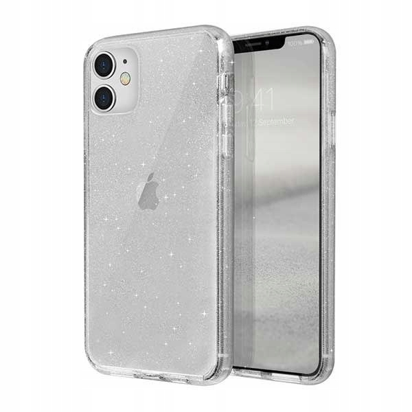 UNIQ etui LifePro Tinsel iPhone 11 przezroczysty