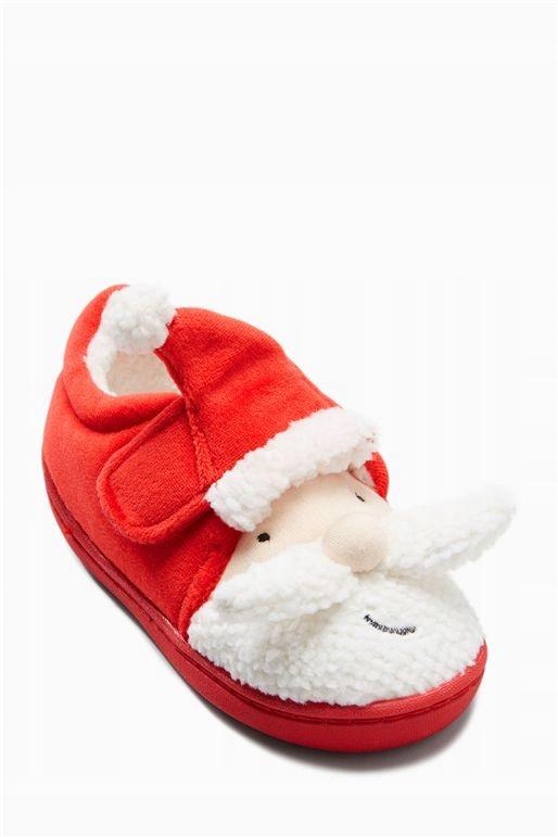 Next nowe ciepłe kapcie Mikołaj święta r. 24 UK7