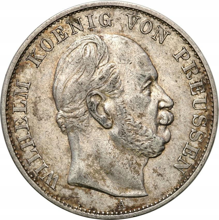 Niemcy Prusy Siegestaler 1871 st.3+