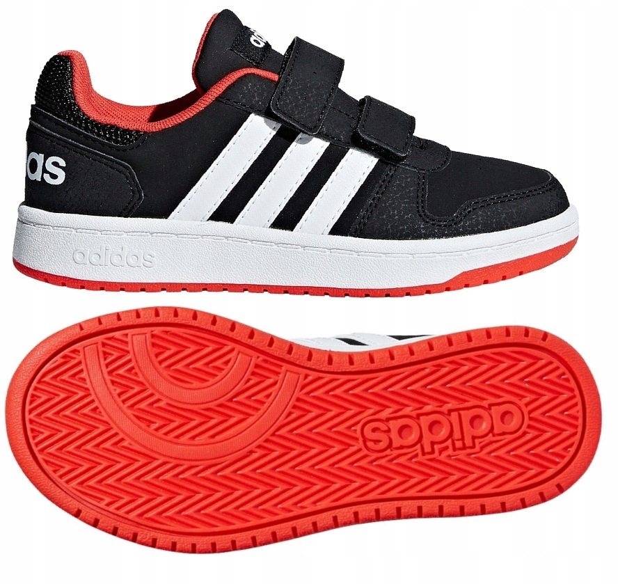 Buty ADIDAS HOOPS 2.0 CMF Junior B75960 29