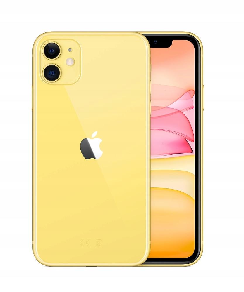 Apple iPhone 11 128GB Yellow / Żółty Poznań