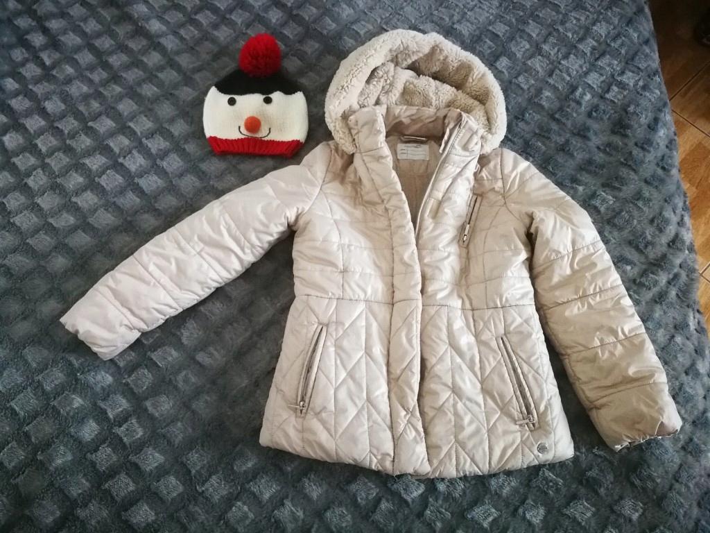 Coccodrillo kurtka 146 zimowa dziewczynki+GRATIS