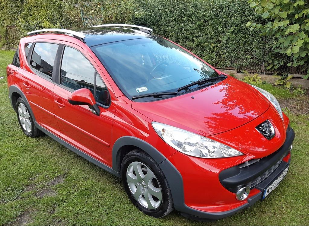Peugeot 207 Sw Outdoor 9213485234 Oficjalne Archiwum Allegro