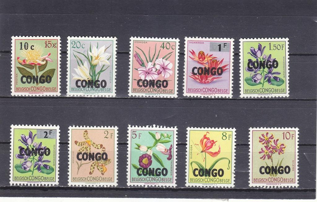 Kolonie belgijskie. 1950. Congo*