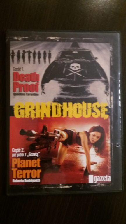 DEATH PROOF, PLANET TERROR dwa filmy DVD
