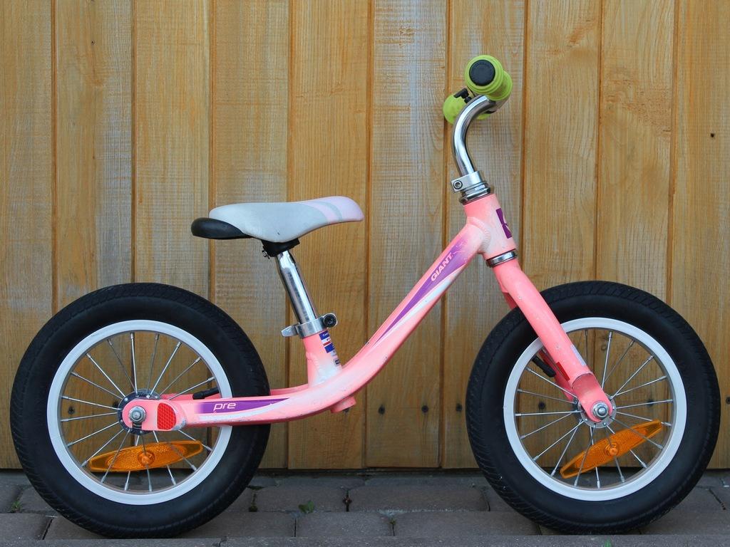 Rower dziecięcy biegowy Giant Pre alu koła 12