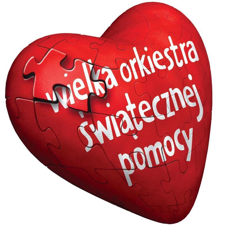 Serce Wielkiej Orkiestry Świątecznej Pomocy