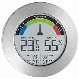 Termometr/higrometr z komfortowym wyświetlaczem