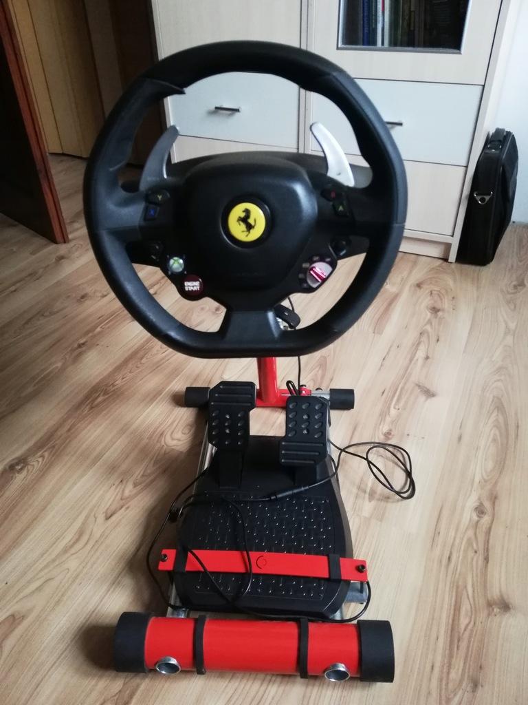 Thrustmaster Ferrari 458 Italia Stojak 9243689811 Oficjalne Archiwum Allegro