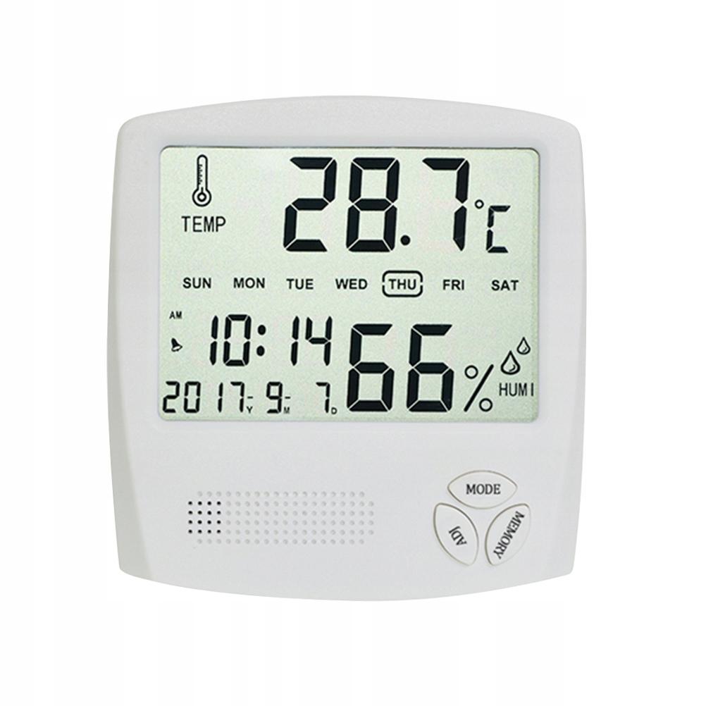 Utility Cyfrowy termometr temperatury Miernik wilg