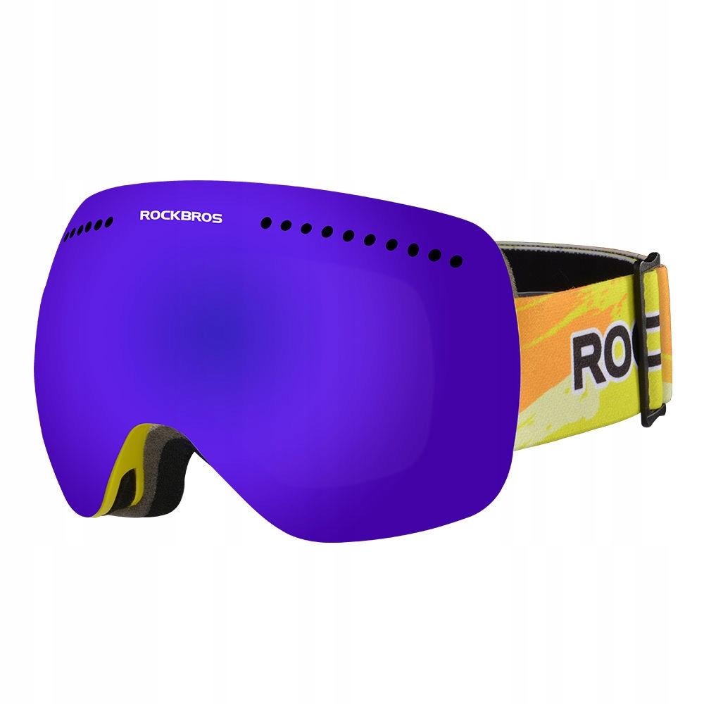 Gogle narciarskie ROCKBROS 10084 Anti-fog UV400 nb