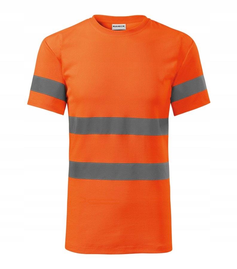 Koszulka t-shirt ostrzegawcza HV pomarańczowa S