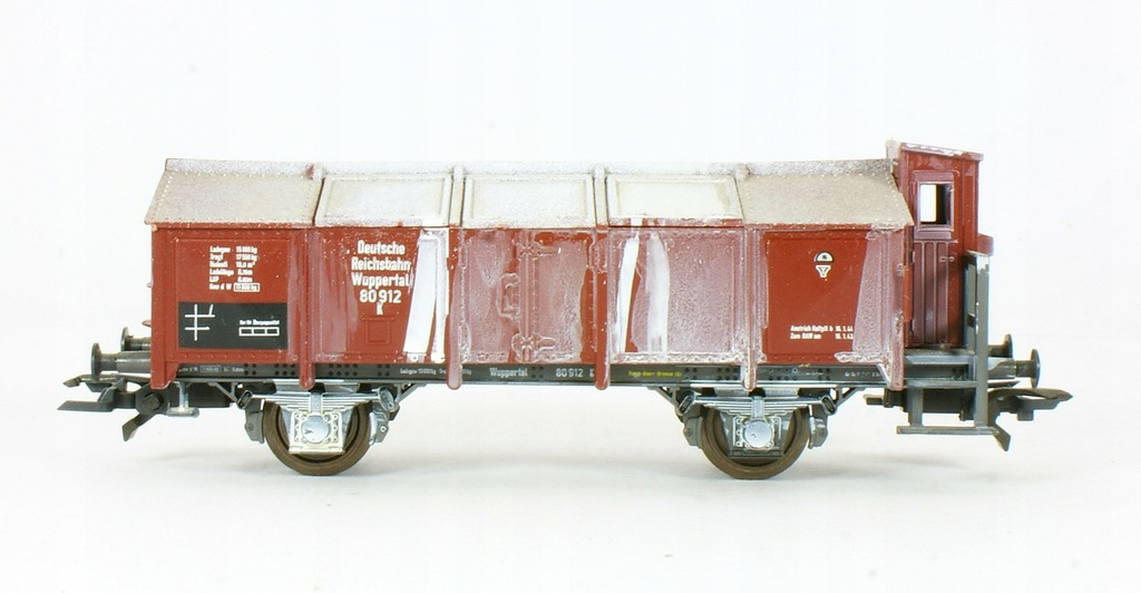 Roco. Wagon wapniarka K Wuppertal DRG II ep.
