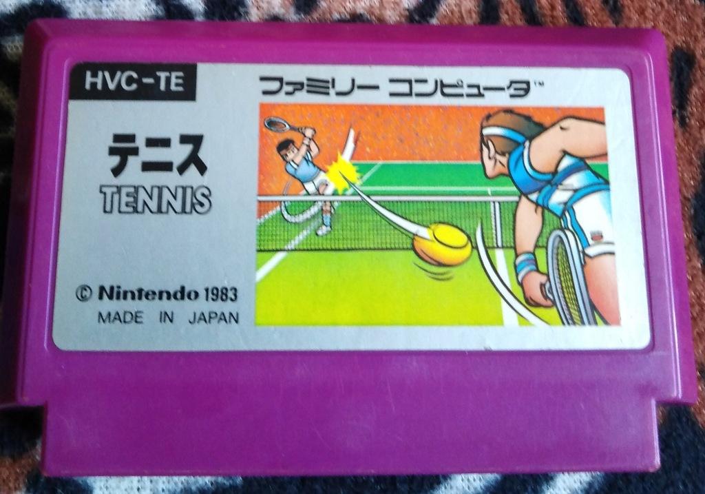 Kartridż (Cartrigde) Famicom - Tennis: