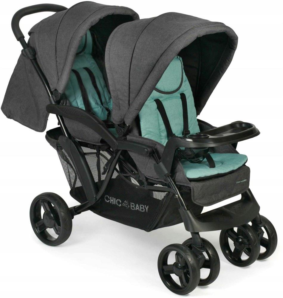 Wózek dla rodzeństwa CHIC 4 BABY DOPPIO