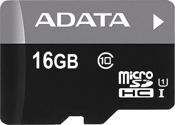 Karta Micro SD ADATA SDHC 16GB C10 + ADAPTER