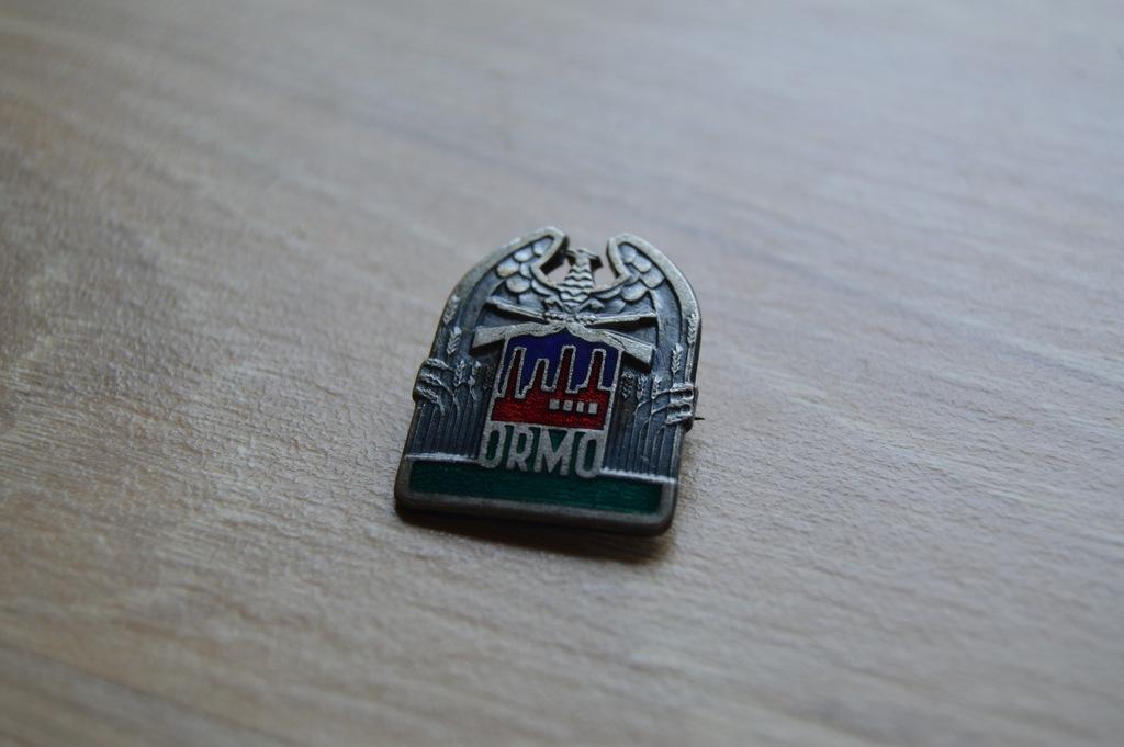 Odznaka ORMO 25 x 20 mm