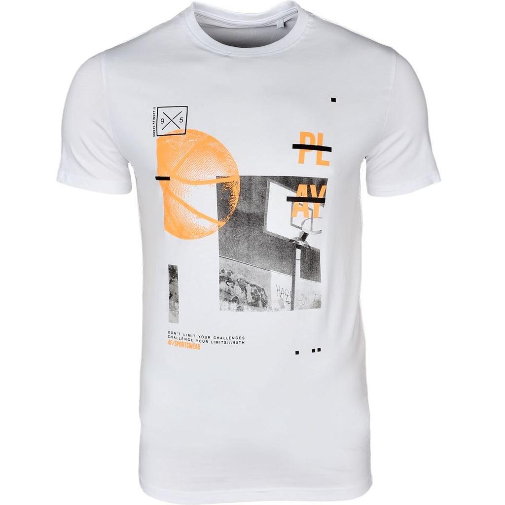 T-shirt 4F Koszulka Męska (L8TSM026-10S) XL