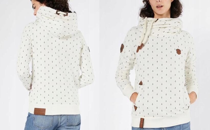 bluza naketano biala rozpinana rozmiar l