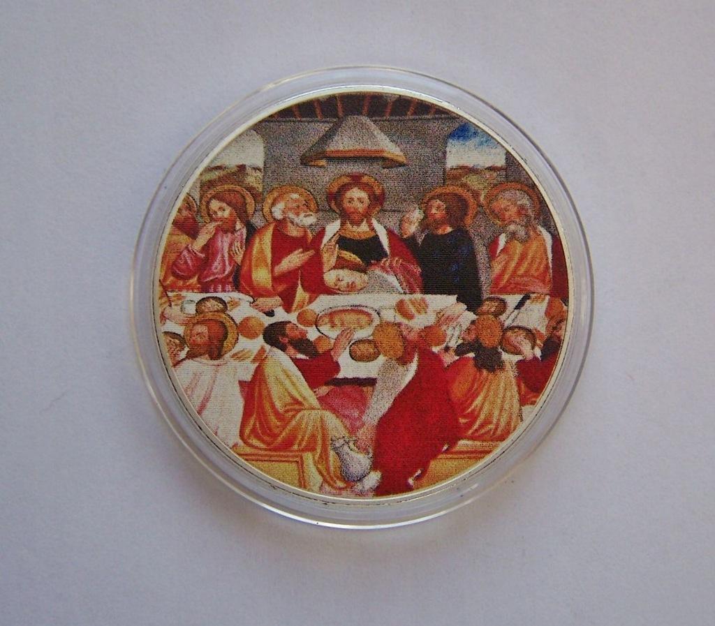 USA - Nowy Testament 6 - piękna posrebrzana