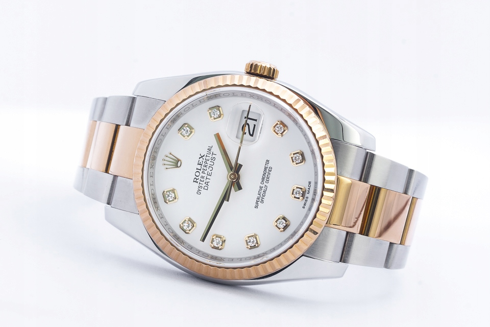 ROLEX OYSTER PERPETUAL DATEJUST COSC 36MM /KPL.