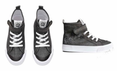 H&m buty sportowe srebrne 29 18 cm trampki za kostkę