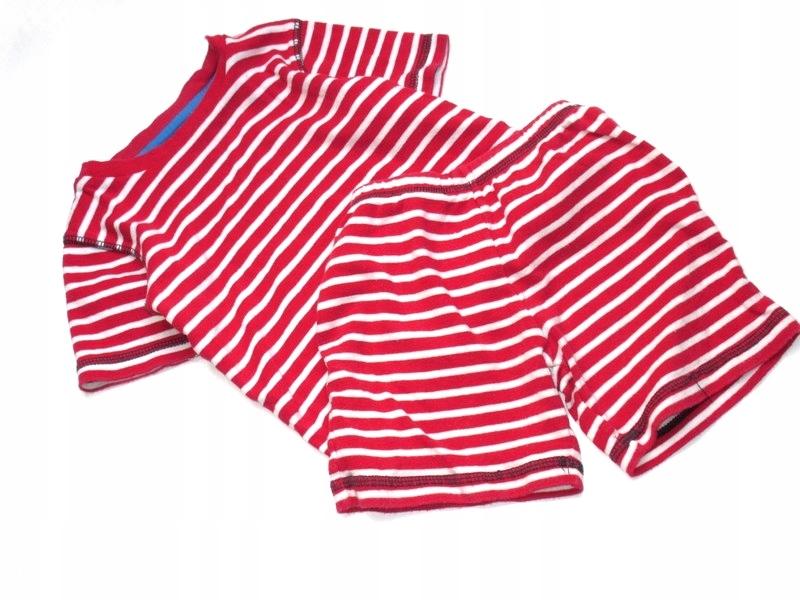 T U komplecik piżamka spodenki +bluzka 92/98