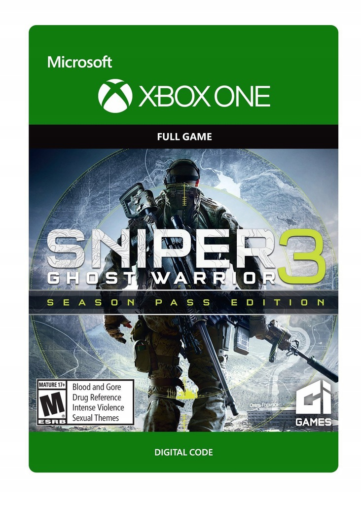 Sniper Ghost Warrior 3 Xbox One Kod Klucz 8666026593 Oficjalne Archiwum Allegro