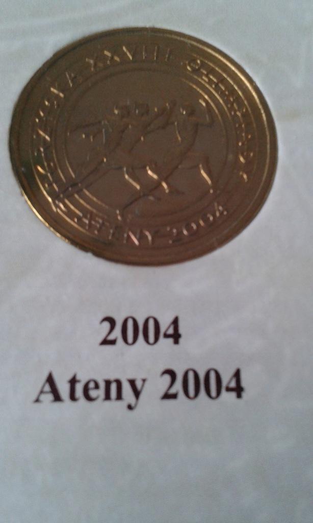 Ateny 2004 Igrzyska mennicza połysk