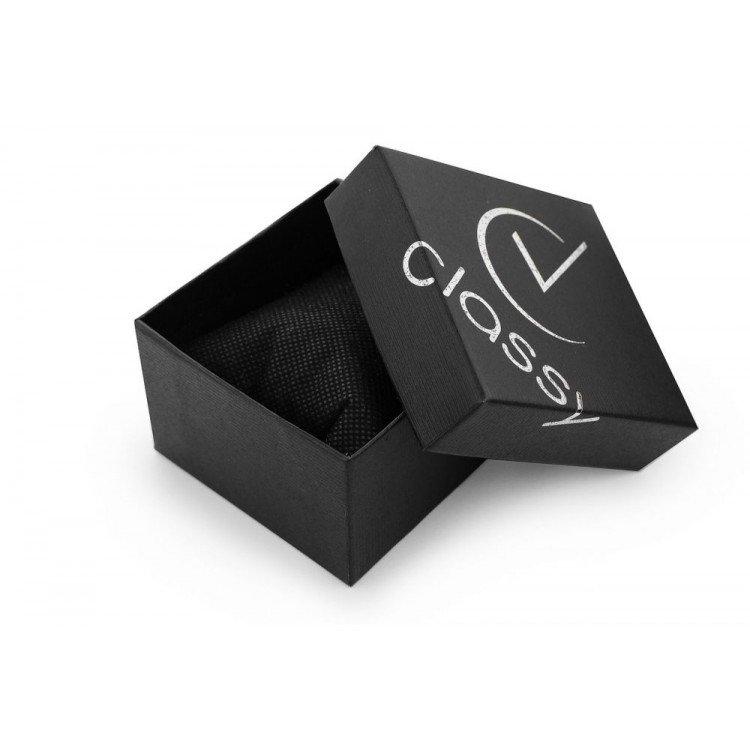 DEKORACYJNE/ Pudełko na zegarek CLASSY z poduszką