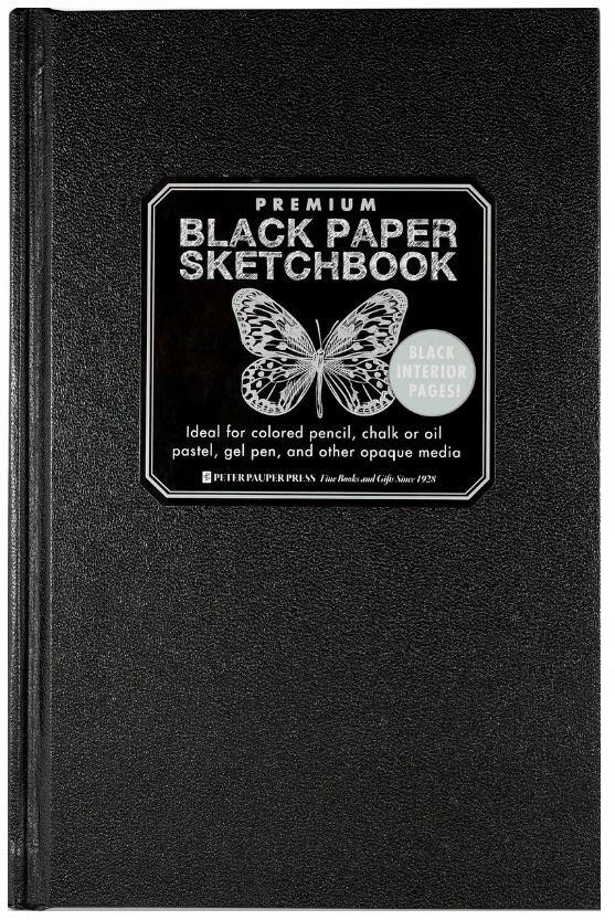 Szkicownik Premium Czarny Papier