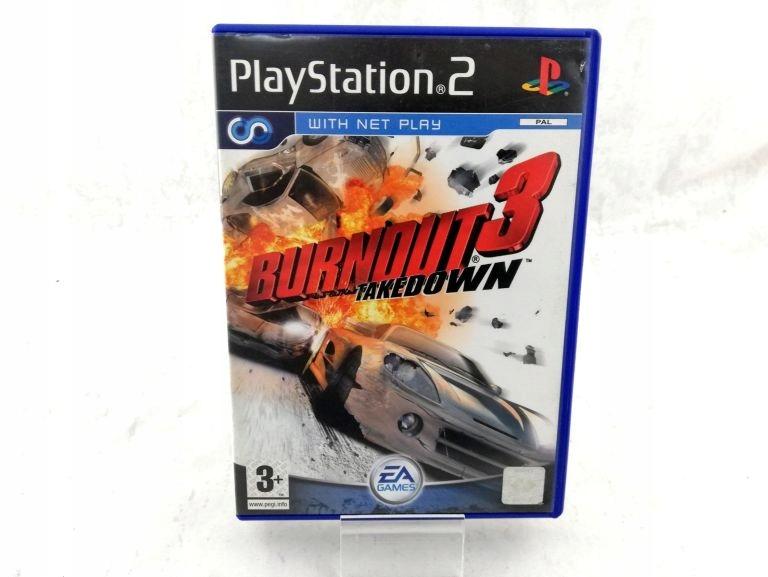 GRA NA PS2 BURNOUT 3 TAKEDOWN