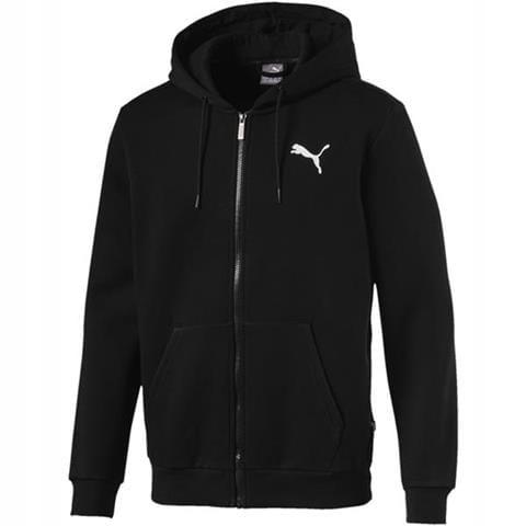 Bluza męska Puma Essentials rozpinana czarna XL